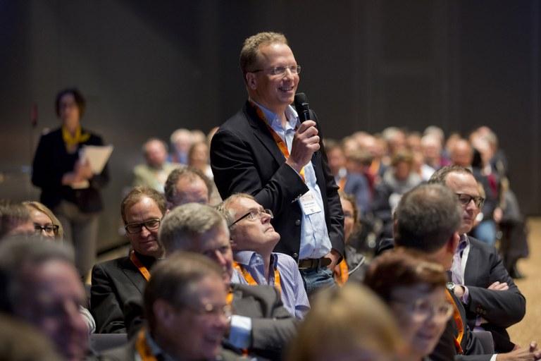 Fragen aus dem Publikum während der Jahrestagung 2017